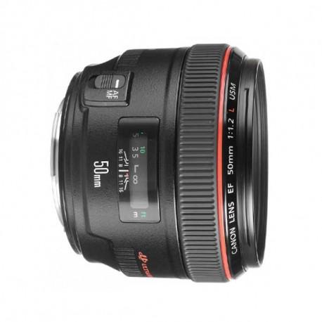 Alquiler Canon 50mm 1.2L
