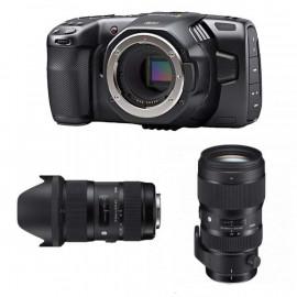 KIT COMPLETO Blackmagic Pocket Cinema Camera 6K