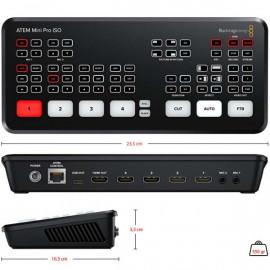 ATEM Mini Pro ISO streaming