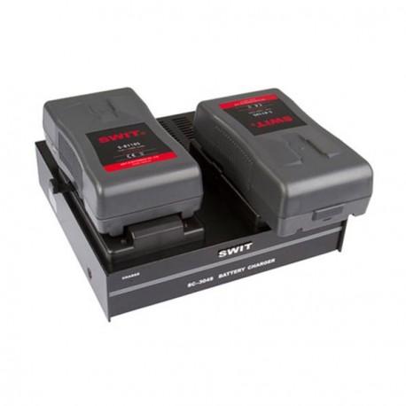 2 baterías V-lock + Cargador doble