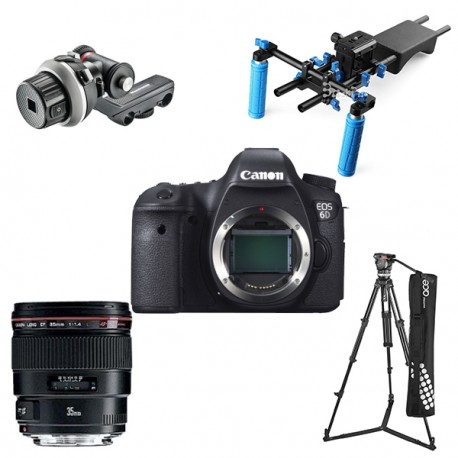 KIT Canon EOS 6D COMPLETO