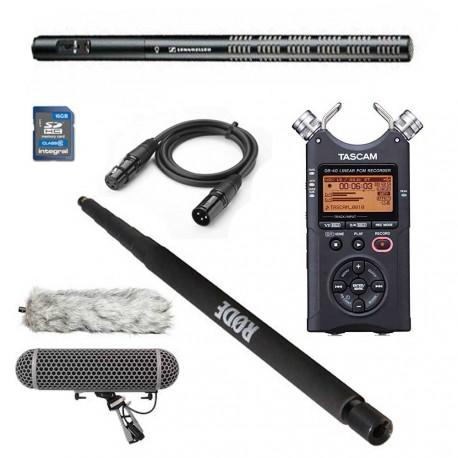 Kit completo de sonido para rodaje ME66+K6