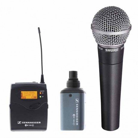 Kit micro de mano Shure SM58 inalámbrico