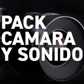Pack Completo Rodaje: Cámara y Sonido
