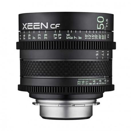 Objetivo XEEN CF 50mm T1.5 EF