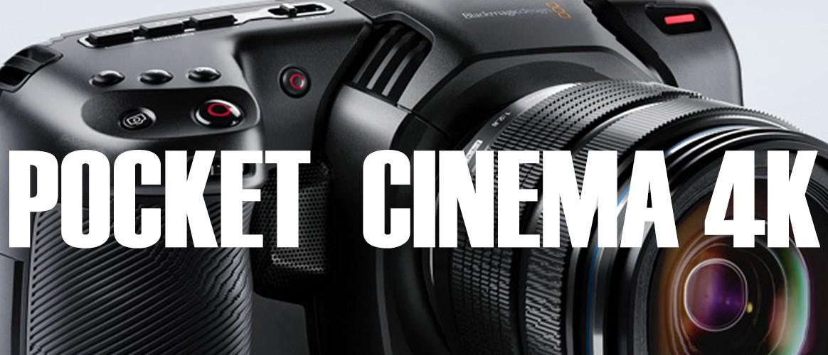 Alquiler BlackMagic Pocket Cinema 4K