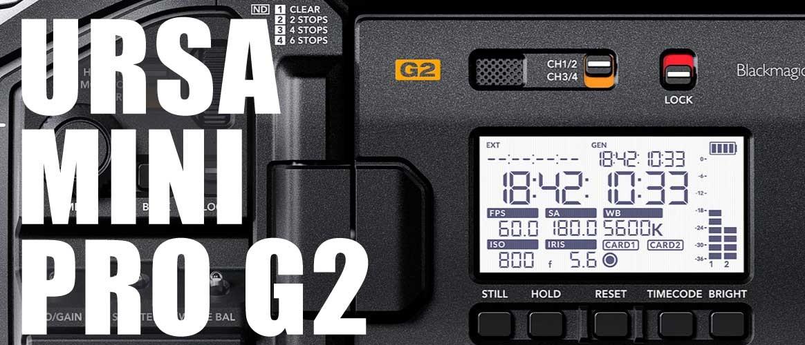 Alquiler Ursa Mini Pro G2 Madrid
