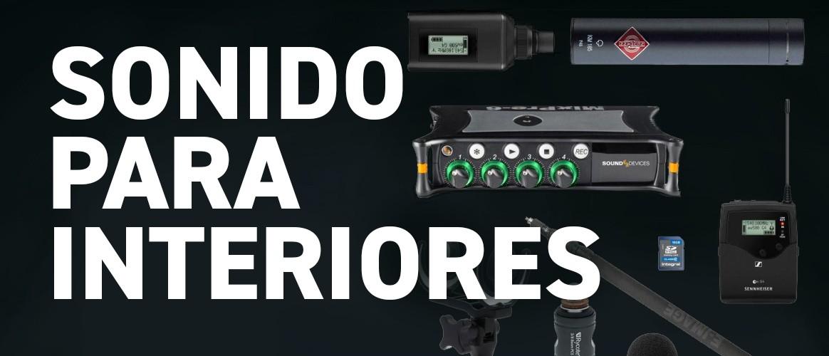 Alquiler de equipo de sonido para interiores Madrid